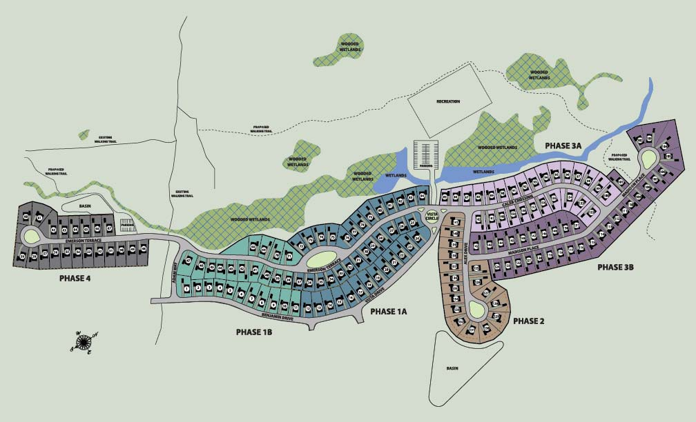 Mountainside Woods Site Plan